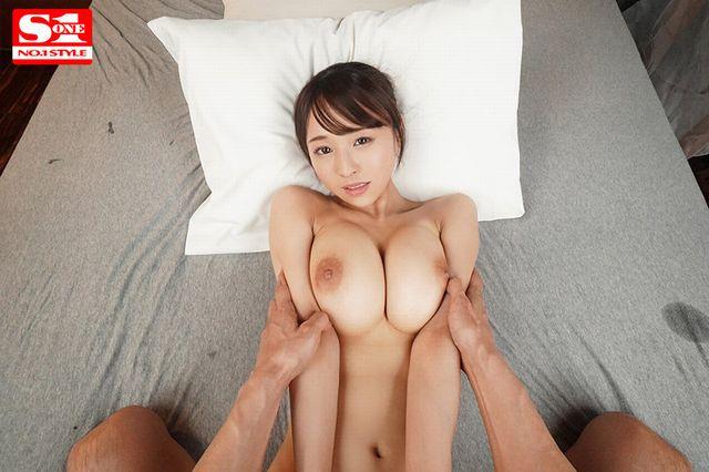 天音まひなの乳フェチ特化VR-正常位セックス