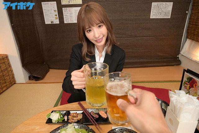 桃乃木かなの相部屋NTRVR_商談終りの居酒屋